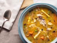 Sopa Fanesca receta de Denisse Oller