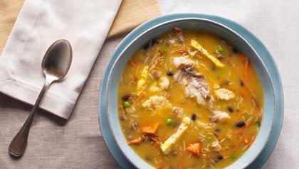 Fanesca Soup, Recipe by Denisse Oller