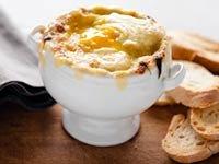 Sopa de cebolla al estilo español