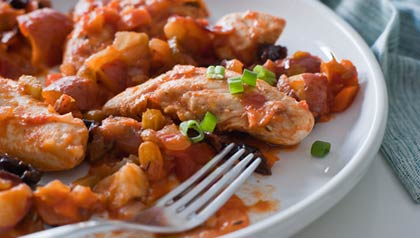 Dennise Oller Recipe for Chicken Fricasee