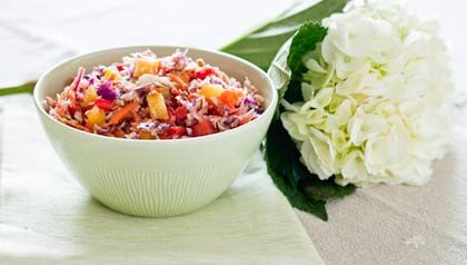 Honey Coleslaw recipe of Denisse Oller