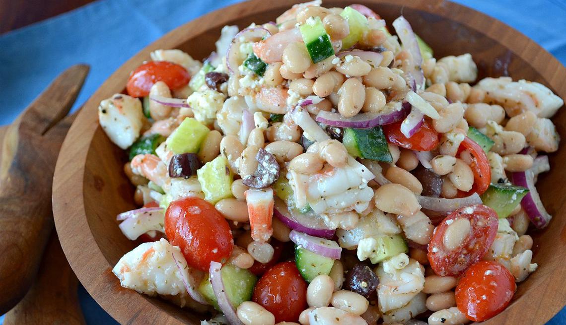 Salad - Filling, Nutritious Salad Recipes - Dressing ...