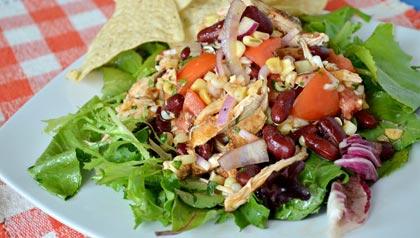 AARP experta en comida Pamela Anderson: Ensalada de pollo