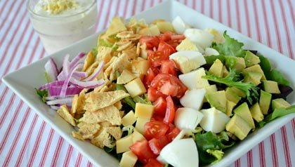 AARP Food Expert Pam Anderson: 3 Main Course Salad Recipes: Cobb Salad