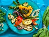Vegetales a la parrilla - Receta de Denisse Oller