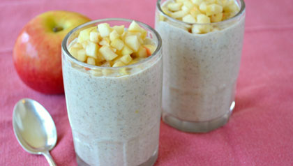 3 Super-Food Smoothies: Apple Cinnamon