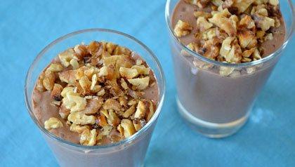 3 Super-Food Smoothies: Chocolate Walnut