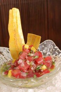 Ceviche de atún - una receta favorita de Plácido Domingo