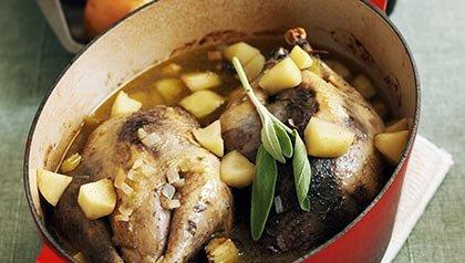 Low-Calorie One-Dish Meals: autumn game casserole