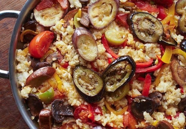 item 5 of Gallery image - Vegetarian Paella,Paella vegetariana