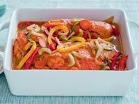 Pollo escabeche, una receta de Denisse Oller