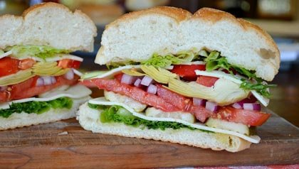 Empanedado italiano vegetariano