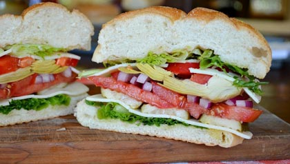 AARP Food Expert Pam Anderson: Three Hearty Meatless Sandwich Recipes: Meatless Italian Sub