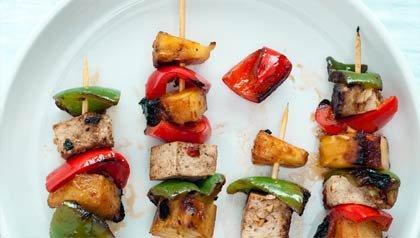 Receta de Denisse Oller: Kebabs de Tofu