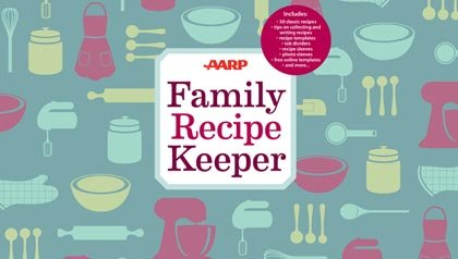 AARP recipe binder