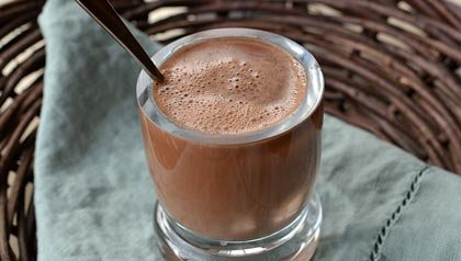 Pam Anderson: Three Healthy Chocolate Snack Recipes - Hot Chocolate