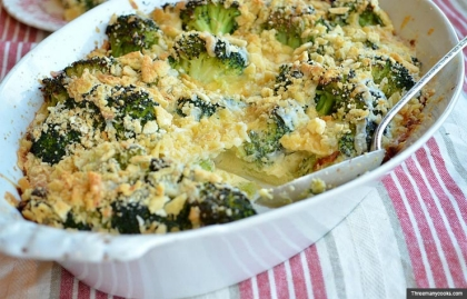 Broccoli casserole - Recipe by Pam Anderson