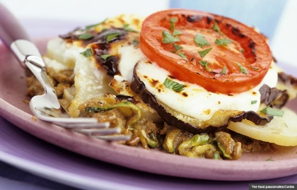 Vegetable Moussaka, Healthy Casserole Recipes