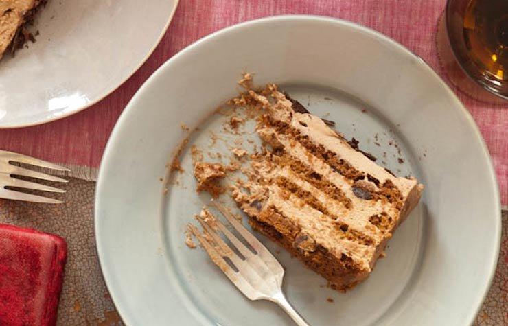 Ina Garten romantic dinner, Chocolate cake