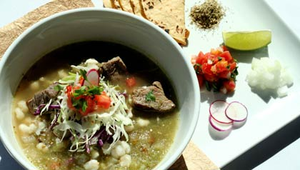 Posole - Receta del Chef Anthony Lamas