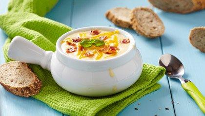 Sopa de patata al horno, 4 recetas para celebrar el Día de San Patricio