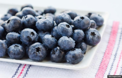 Blueberries, Crazy Combo Cookstr recipes