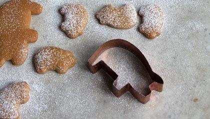 Receta de galletas en forma de cerditos, receta de Pati Jinich