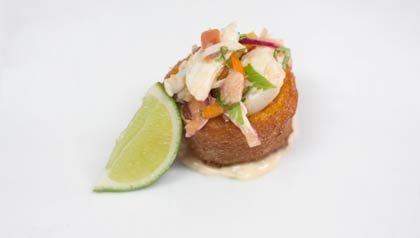 Alcapurria de Cangrejo - Receta del chef Jose Enrique