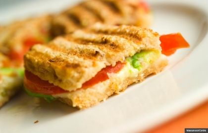 Sandwich with Avocado and Tomato, Cookstr: Unique and tasty sandwiches (Mascarucci/Corbis)