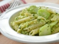 Fettuccine with Broccoli Pesto, Recipe by Pam Anderson (threemanycooks.com)