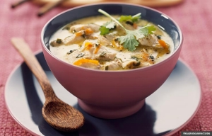 Spicy Chicken Soup, Cookstr recipe Chicken Soup: 7 Ways for 7 Days (Riou/photocuisine/Corbis)