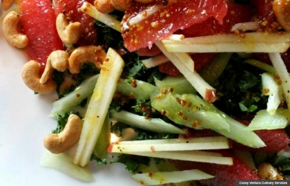 Asian salad, Chef Cocoy's Healthy Holiday Recipes (Cocoy Ventura Culinary Services)