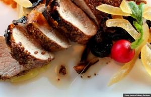 Asian pork, Chef Cocoy's Healthy Holiday Recipes (Cocoy Ventura Culinary Services)