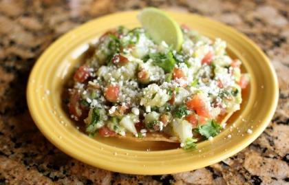 Ceviche vegetariano, receta del chef Carlos Gaytan