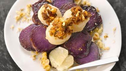 Patatas gratinadas - Recetas para el día de San Valentín