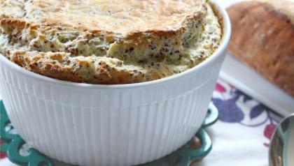Souffle de quinoa, Receta de Chef Ana Chipana
