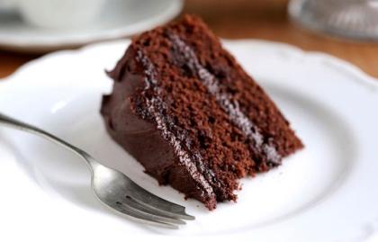 Pastel de chocolate con vino tinto - Recetas para el día de San Valentín