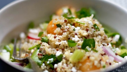 Quinoa Tabulé, Receta de la Chef Ana Chipana