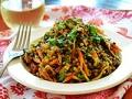 Black Lentil and Couscous Skillet Supper