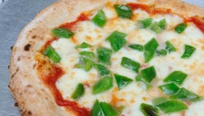 Pizza con pimientos verdes, pizza para el día de San Patricio
