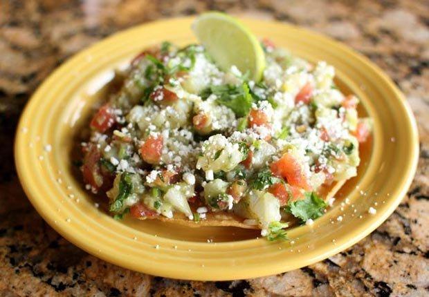 Ceviche vegetariano, receta del chef Carlos Gaytan - Recetas para el día de la madre