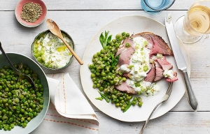 Roasted Leg of Lamb With Fennel, Recipes by Carla Hall