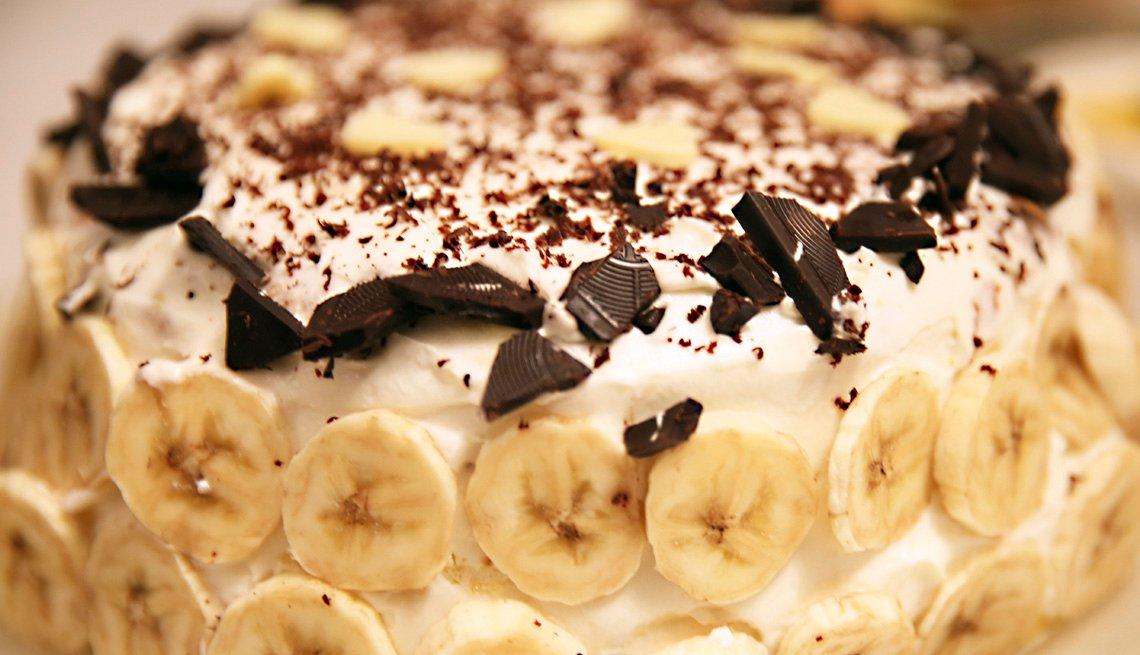 Whisky y Banana Split Cake