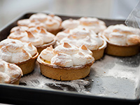 Lemon Meringue Tarts. Cookstr: The Best of Gordon Ramsay.