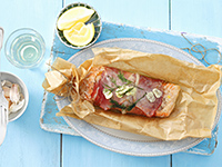 Salmon Papillote, Cookstr Unintimidating French Recipes