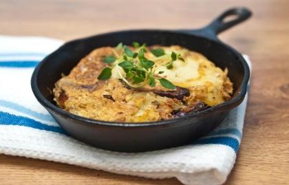 Tortilla mediterránea - 5 Ideas para el desayuno altas en proteínas
