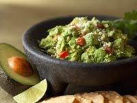 Receta de guacamole con pimienta y cilantro