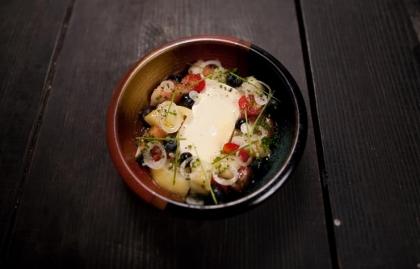 Receta de ensalada de tomate del Chef José Mendin