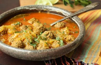 Moroccan-Style Meatballs, Alboondigas estilo marroqui