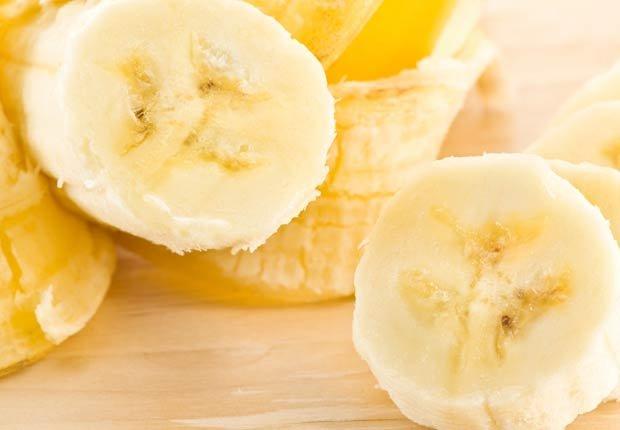 Bananos - 10 pasabocas bajos en calorias